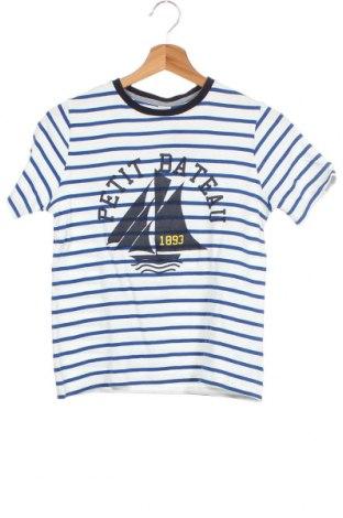 Παιδικό μπλουζάκι Petit Bateau, Μέγεθος 11-12y/ 152-158 εκ., Χρώμα Λευκό, Βαμβάκι, Τιμή 12,86€