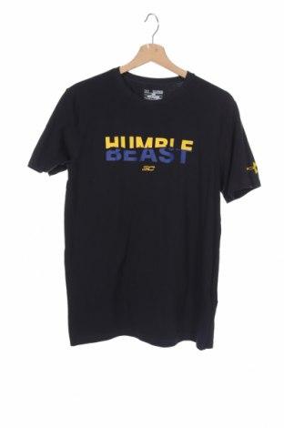 Παιδικό μπλουζάκι Under Armour, Μέγεθος 15-18y/ 170-176 εκ., Χρώμα Μαύρο, 57% βαμβάκι, 38% πολυεστέρας, 5% ελαστάνη, Τιμή 18,19€