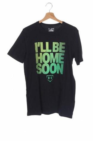 Παιδικό μπλουζάκι Under Armour, Μέγεθος 14-15y/ 168-170 εκ., Χρώμα Μαύρο, 57% βαμβάκι, 38% πολυεστέρας, 5% ελαστάνη, Τιμή 17,28€