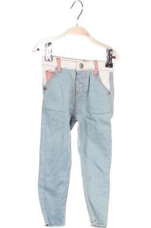 Детски дънки Firetrap, Размер 18-24m/ 86-98 см, Цвят Син, 74% памук, 24% полиестер, 1% еластан, 1% вискоза, Цена 16,80лв.