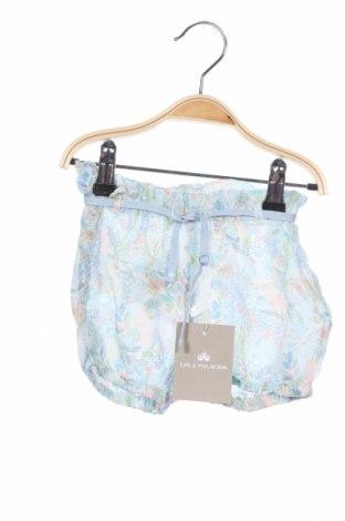 Детски къс панталон Lola Palacios, Размер 3-4y/ 104-110 см, Цвят Многоцветен, Вискоза, Цена 18,02лв.