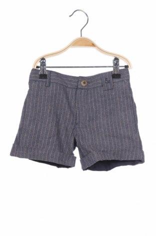 Παιδικό κοντό παντελόνι Neck & Neck, Μέγεθος 18-24m/ 86-98 εκ., Χρώμα Μπλέ, Βαμβάκι, Τιμή 16,12€