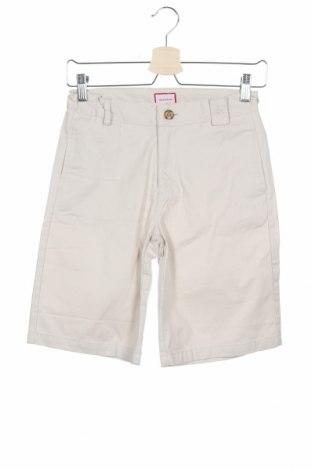 Παιδικό κοντό παντελόνι Neck & Neck, Μέγεθος 9-10y/ 140-146 εκ., Χρώμα  Μπέζ, Βαμβάκι, Τιμή 15,21€