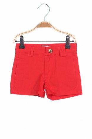 Παιδικό κοντό παντελόνι Neck & Neck, Μέγεθος 9-12m/ 74-80 εκ., Χρώμα Κόκκινο, Βαμβάκι, Τιμή 15,21€