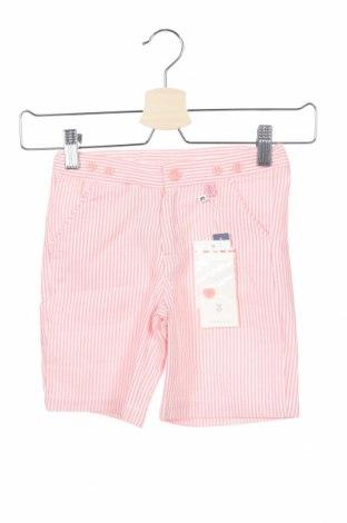 Παιδικό κοντό παντελόνι Tutto Piccolo, Μέγεθος 3-4y/ 104-110 εκ., Χρώμα Κόκκινο, 50% βαμβάκι, 50% πολυεστέρας, Τιμή 16,73€