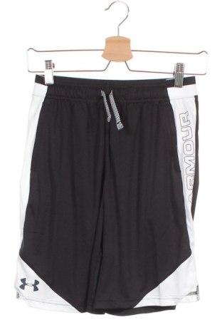 Dětské krátké kalhoty  Under Armour, Velikost 14-15y/ 168-170 cm, Barva Černá, Polyester, Cena  391,00Kč