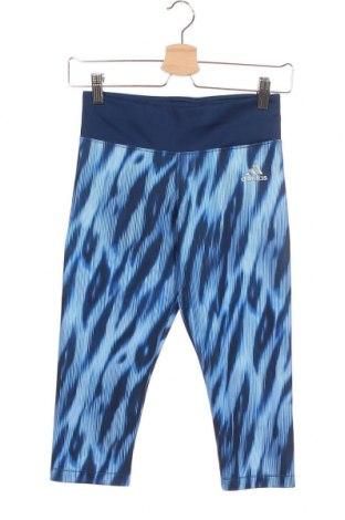 Παιδικό κολάν Adidas, Μέγεθος 12-13y/ 158-164 εκ., Χρώμα Μπλέ, 89% πολυεστέρας, 11% ελαστάνη, Τιμή 18,70€