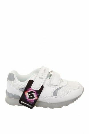 Детски обувки, Размер 30, Цвят Бял, Еко кожа, текстил, Цена 22,56лв.