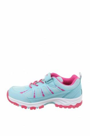 Детски обувки, Размер 34, Цвят Син, Еко кожа, текстил, Цена 28,91лв.