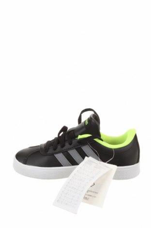 Детски обувки Adidas, Размер 30, Цвят Черен, Еко кожа, Цена 37,62лв.