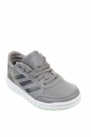 Детски обувки Adidas, Размер 29, Цвят Сив, Еко кожа, Цена 34,96лв.