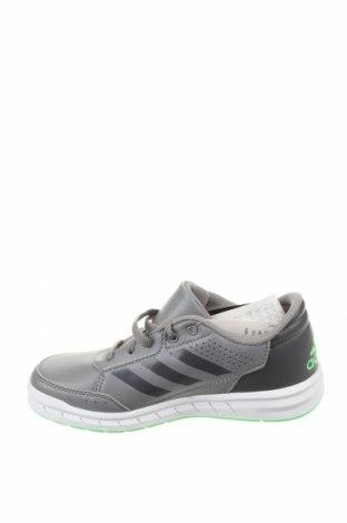 Детски обувки Adidas, Размер 32, Цвят Сив, Еко кожа, Цена 34,96лв.