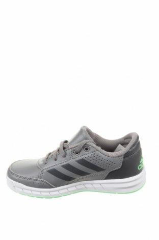 Детски обувки Adidas, Размер 30, Цвят Сив, Еко кожа, Цена 34,96лв.