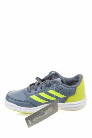 Детски обувки Adidas, Размер 29, Цвят Сив, Еко кожа, Цена 32,34лв.