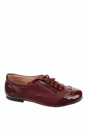 Παιδικά παπούτσια Angelitos, Μέγεθος 31, Χρώμα Κόκκινο, Γνήσιο δέρμα, Τιμή 14,84€
