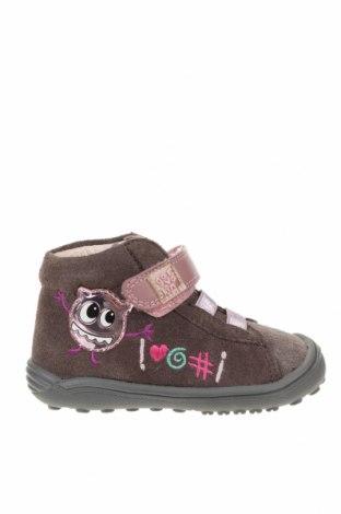 Παιδικά παπούτσια Garvalin, Μέγεθος 20, Χρώμα Γκρί, Φυσικό σουέτ, Τιμή 17,32€