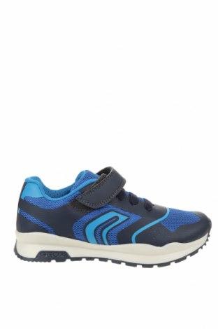 Детски обувки Geox, Размер 30, Цвят Син, Текстил, еко кожа, Цена 66,75лв.