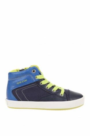 Детски обувки Geox, Размер 27, Цвят Син, Еко кожа, текстил, Цена 66,75лв.