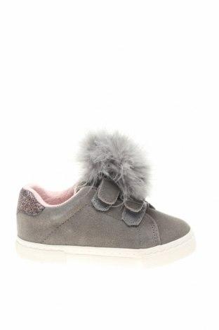 Dětské boty  Gioseppo, Velikost 26, Barva Šedá, Přírodní velur , pravá kožešina , Cena  722,00Kč