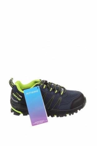 Детски обувки Lotto, Размер 29, Цвят Син, Еко кожа, текстил, Цена 29,37лв.