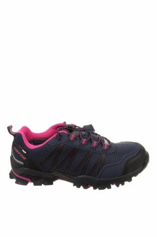 Детски обувки Lotto, Размер 35, Цвят Син, Текстил, еко кожа, Цена 33,82лв.