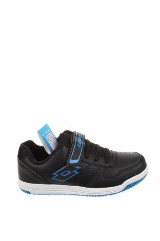Детски обувки Lotto, Размер 32, Цвят Черен, Еко кожа, Цена 66,75лв.