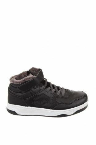 Детски обувки Lotto, Размер 31, Цвят Черен, Еко кожа, Цена 30,26лв.