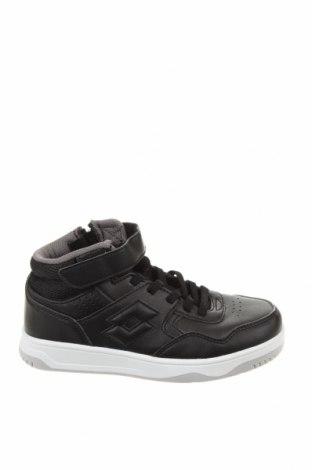 Детски обувки Lotto, Размер 31, Цвят Черен, Еко кожа, Цена 66,75лв.