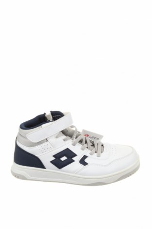 Детски обувки Lotto, Размер 34, Цвят Бял, Еко кожа, Цена 31,15лв.