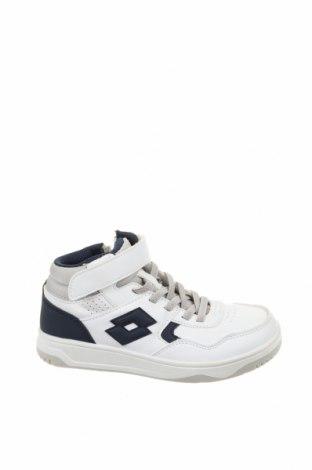 Детски обувки Lotto, Размер 30, Цвят Бял, Еко кожа, Цена 31,15лв.