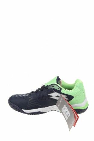 Детски обувки Lotto, Размер 34, Цвят Син, Еко кожа, текстил, Цена 66,75лв.