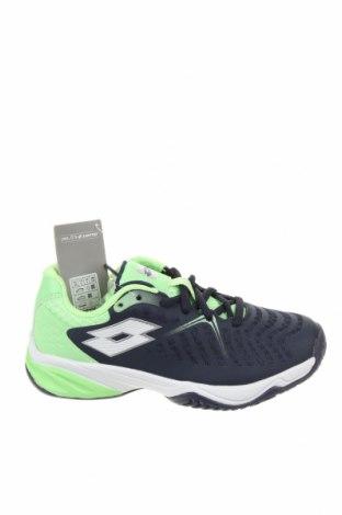 Детски обувки Lotto, Размер 33, Цвят Син, Еко кожа, Цена 35,60лв.