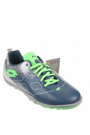 Детски обувки Lotto, Размер 39, Цвят Син, Еко кожа, Цена 33,97лв.