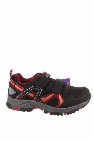 Детски обувки Lotto, Размер 32, Цвят Черен, Еко кожа, текстил, Цена 32,93лв.