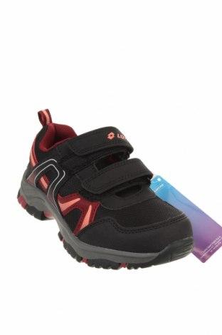 Детски обувки Lotto, Размер 30, Цвят Черен, Еко кожа, текстил, Цена 32,93лв.