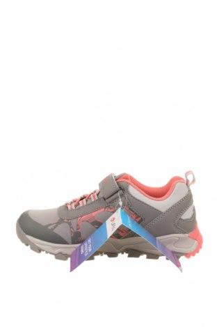 Детски обувки Lotto, Размер 33, Цвят Сив, Еко кожа, текстил, Цена 32,93лв.