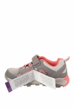 Детски обувки Lotto, Размер 31, Цвят Сив, Еко кожа, текстил, Цена 32,93лв.