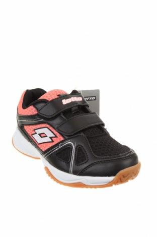 Детски обувки Lotto, Размер 31, Цвят Черен, Еко кожа, текстил, Цена 35,60лв.