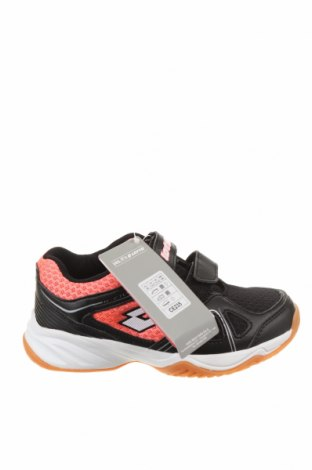 Детски обувки Lotto, Размер 30, Цвят Черен, Еко кожа, текстил, Цена 29,37лв.
