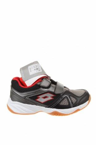 Детски обувки Lotto, Размер 32, Цвят Сив, Еко кожа, текстил, Цена 29,37лв.