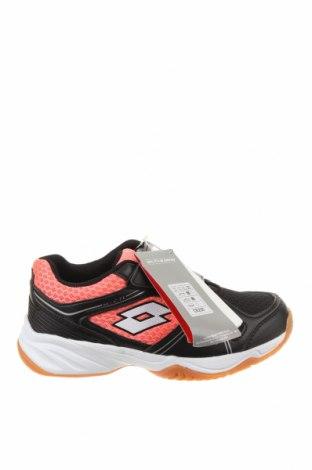 Детски обувки Lotto, Размер 32, Цвят Черен, Еко кожа, текстил, Цена 29,37лв.