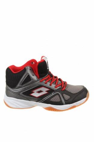 Детски обувки Lotto, Размер 36, Цвят Черен, Текстил, еко кожа, Цена 55,47лв.