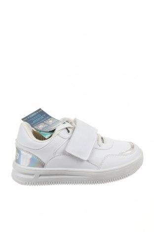 Детски обувки Mtng, Размер 35, Цвят Бял, Еко кожа, Цена 38,64лв.