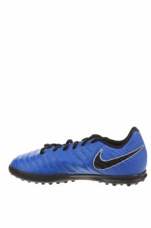 Детски обувки Nike, Размер 38, Цвят Син, Полиуретан, Цена 74,25лв.