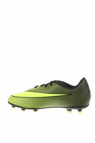 Детски обувки Nike, Размер 37, Цвят Зелен, Полиуретан, Цена 37,62лв.