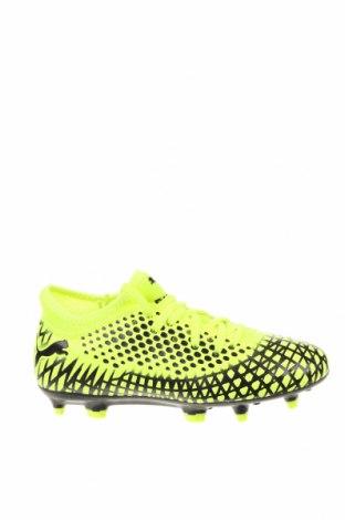 Детски обувки PUMA, Размер 32, Цвят Зелен, Еко кожа, Цена 29,37лв.