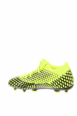 Детски обувки PUMA, Размер 35, Цвят Зелен, Еко кожа, Цена 29,37лв.