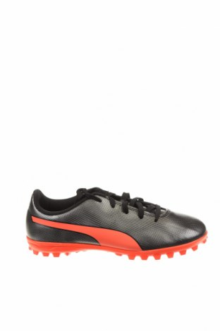Детски обувки PUMA, Размер 34, Цвят Сив, Еко кожа, Цена 29,37лв.