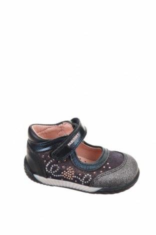 Παιδικά παπούτσια Pablosky, Μέγεθος 18, Χρώμα Μπλέ, Γνήσιο δέρμα, Τιμή 13,76€