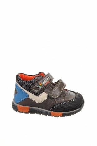 Παιδικά παπούτσια Pablosky, Μέγεθος 20, Χρώμα Γκρί, Γνήσιο δέρμα, Τιμή 15,73€